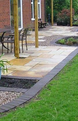 A new Derby Patio for Derby rear garden
