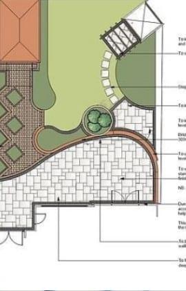 Design for a new Derby garden lighting