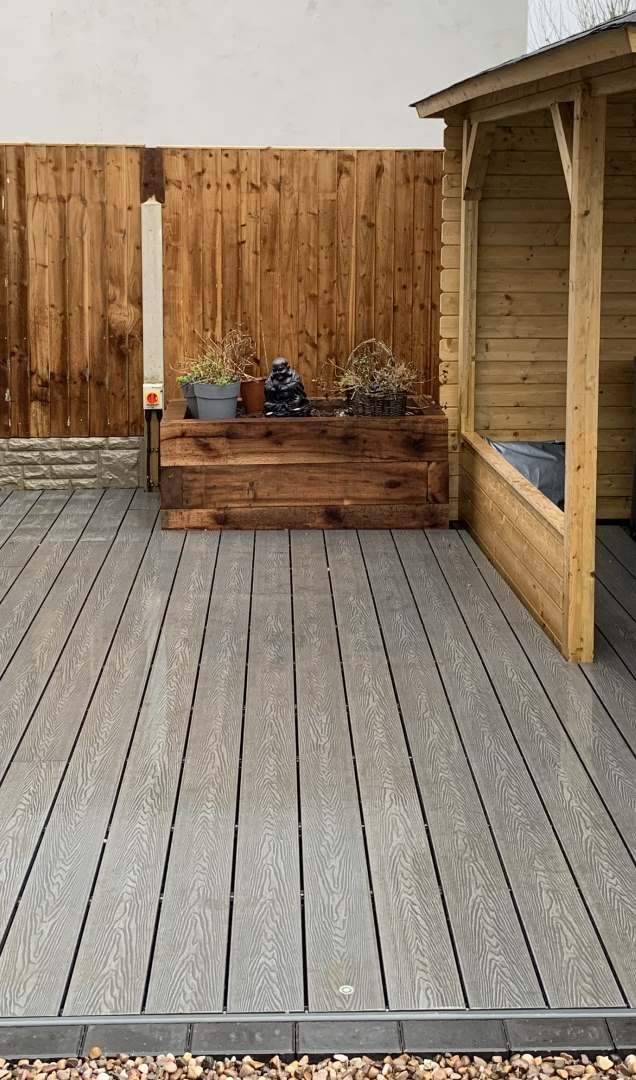 Example of our Derby Decking design work