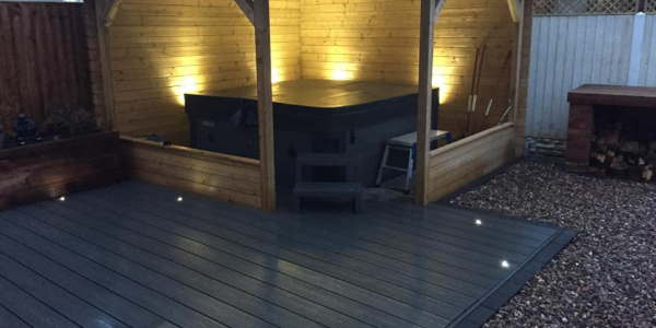 Garden Lighting Design and Installers in Derby