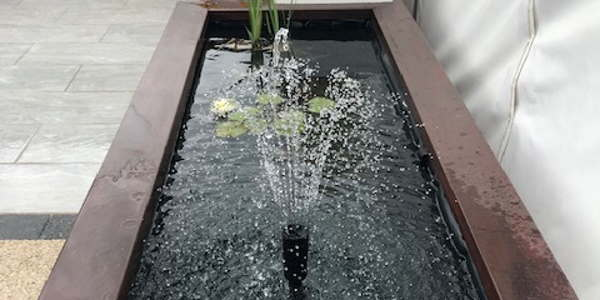Garden Water Feature Design Services in Derby