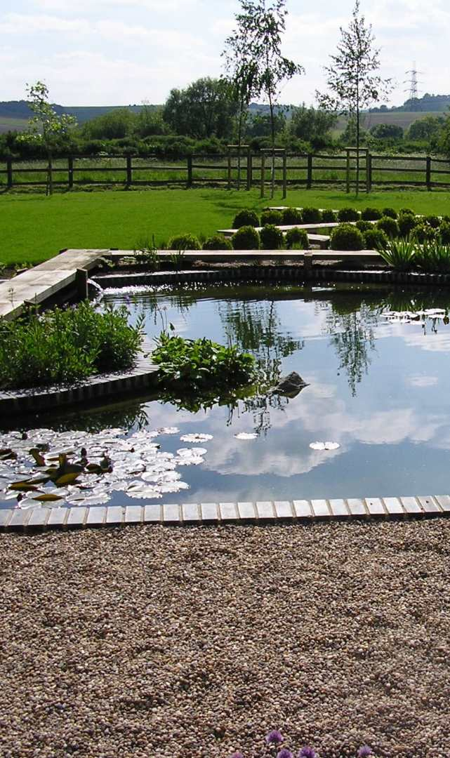 Pond Water Feature in Derby Garden