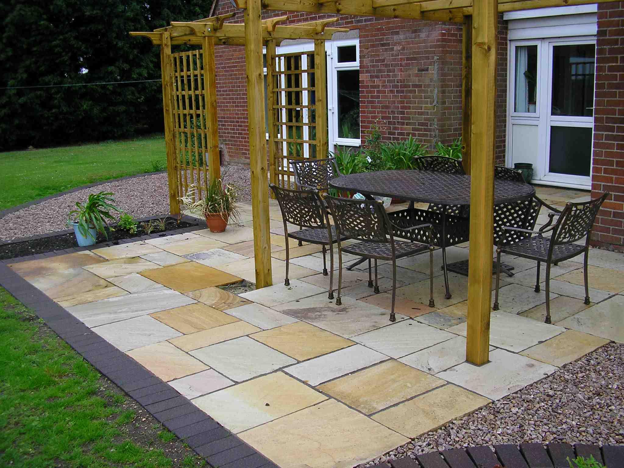 Portfiolio patios Burton on Trent example 6
