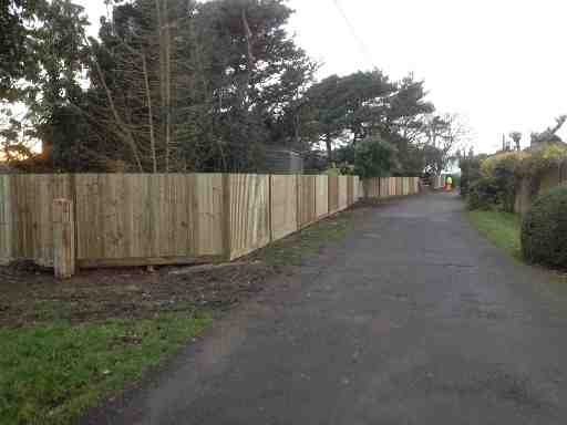 Portfolio eamples of our new fencing and gates company service in Derby 16 1