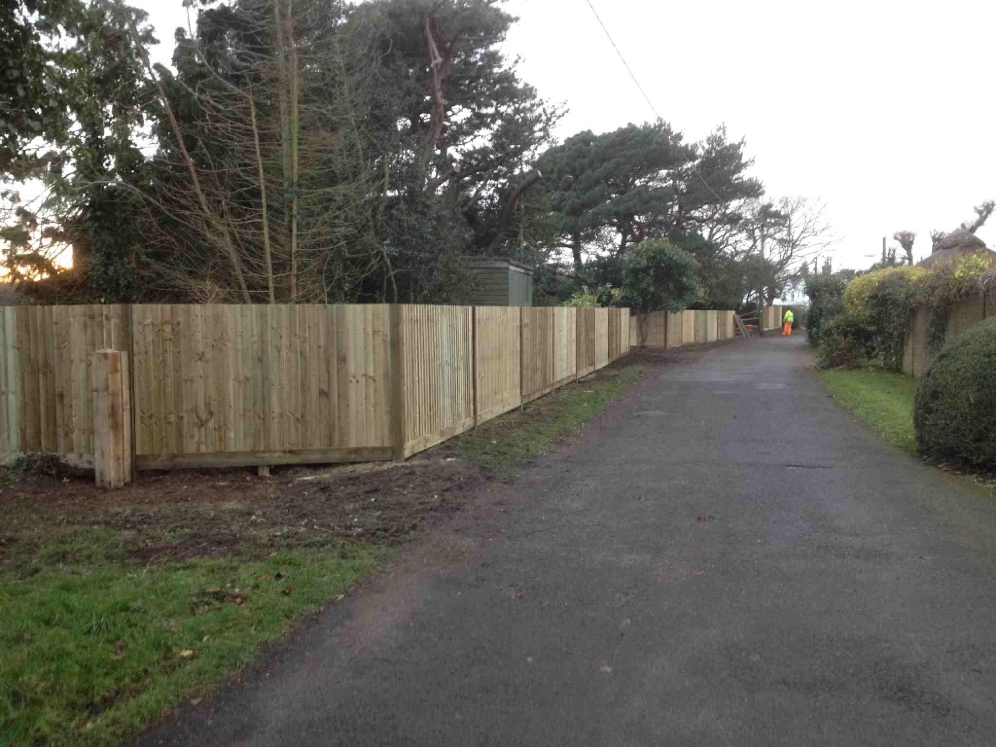 Portfolio eamples of our new fencing and gates company service in Derby 16