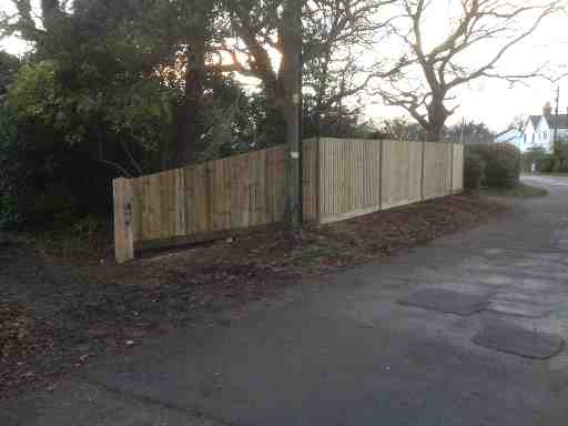 Portfolio eamples of our new fencing and gates company service in Derby 18 1