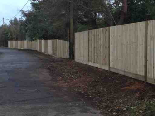 Portfolio eamples of our new fencing and gates company service in Derby 19 1