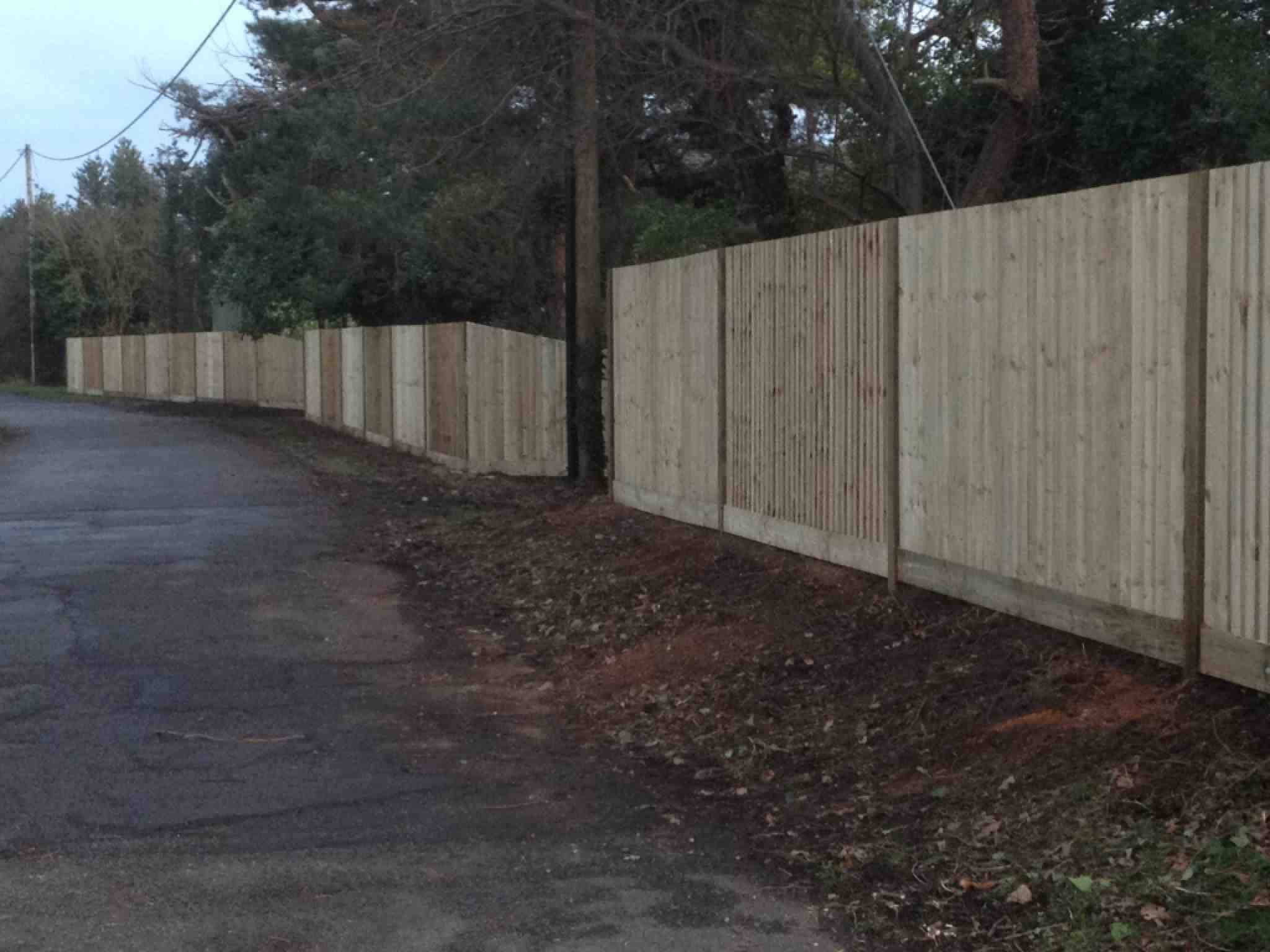 Portfolio eamples of our new fencing and gates company service in Derby 19