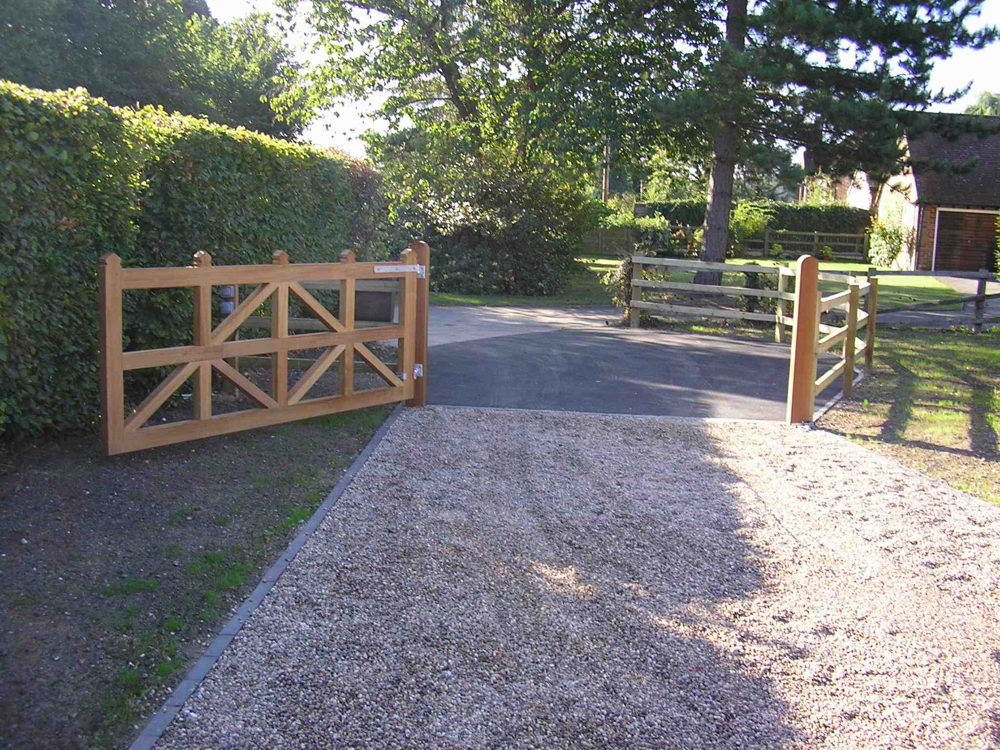 Portfolio eamples of our new fencing and gates company service in Derby 9